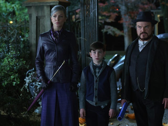 Eli Roth, of all directors, brings Amblin magic to the kid-lit horror of The House With A Clock In Its Walls