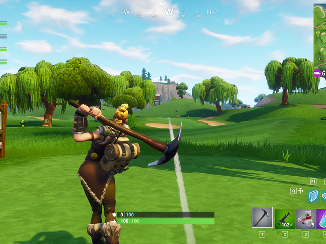 The Only Rule Of Fortnite Golf Is Don't Get Killed