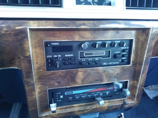 WANTED. Ford cassette radio and/or radio help