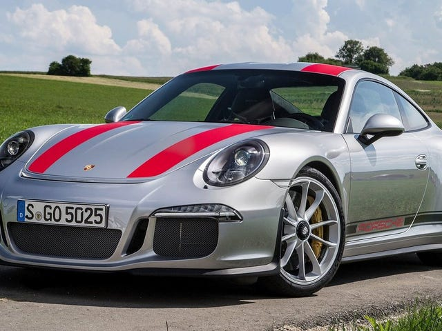 Jerry Seinfeld Says He Came Up With The Porsche 911 R