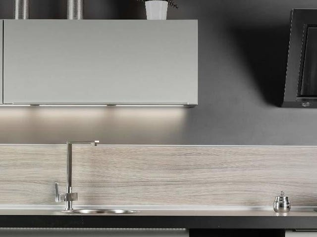 You--Yes, You--Can Have Fancy Under-Cabinet Lighting For Just $16