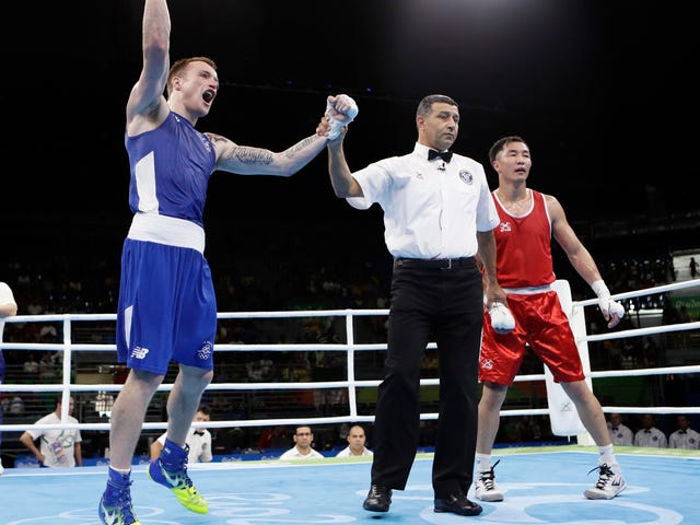 Irish Olympic Boxer Bet On Himself To Lose, Won