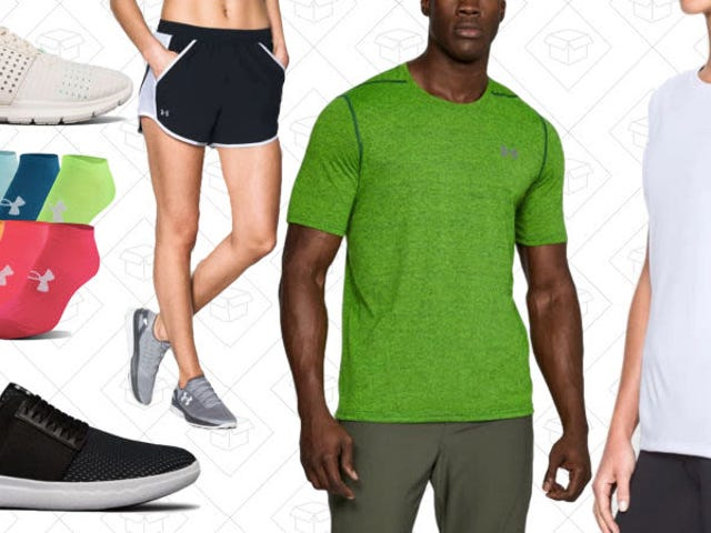 There's No Excuse To Not Be Outside With This Huge Under Armour Sale