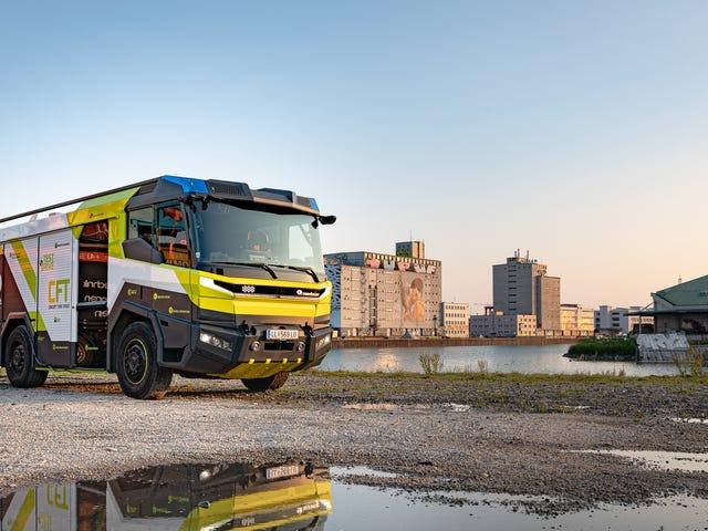 Xe cứu hỏa điện đáng yêu này là tương lai chúng ta cần