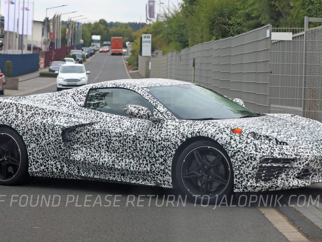 The Mid-Engine Corvette Has Arrived At The Nürburgring