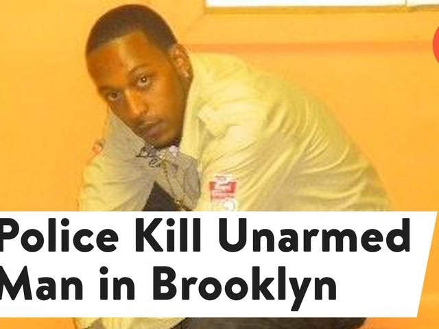 Another Unarmed Black Man Was Shot and Killed by the Police—This Time in Brooklyn