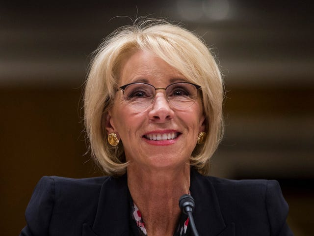 Please Respect That Betsy Devos Is an Introvert, Okay?