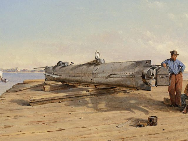 The Surprising Way a Confederate Submarine Crew Died at the Hands of Its Own Weapon