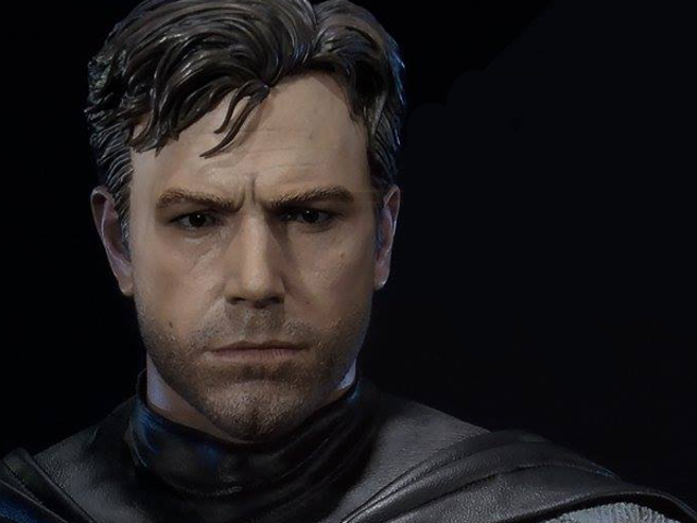 This Statue Perfectly Captures Ben Affleck's Sadness at Having to Play Batman