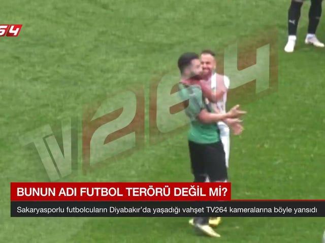 Pemain Sepakbola Dituduh Memotong Lawan Dengan Pisau Tersembunyi Selama Pertandingan Divisi Ketiga Turki