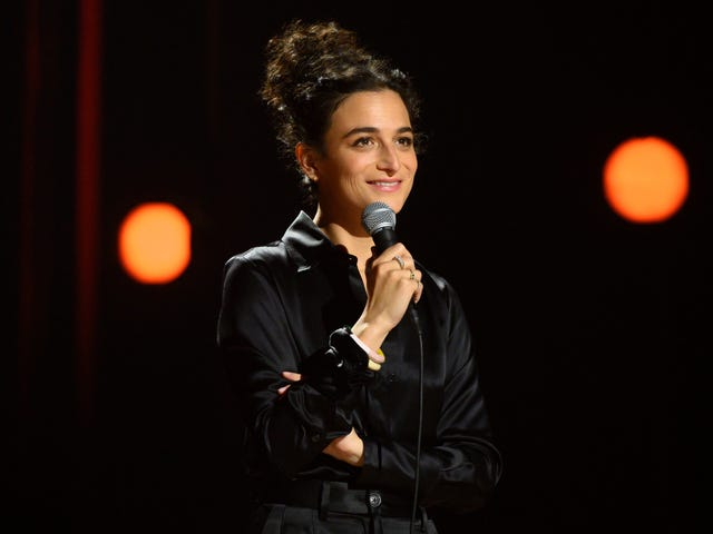 Jenny Slate's first stand-up special is full of energy, reveals, and a little Stage Fright