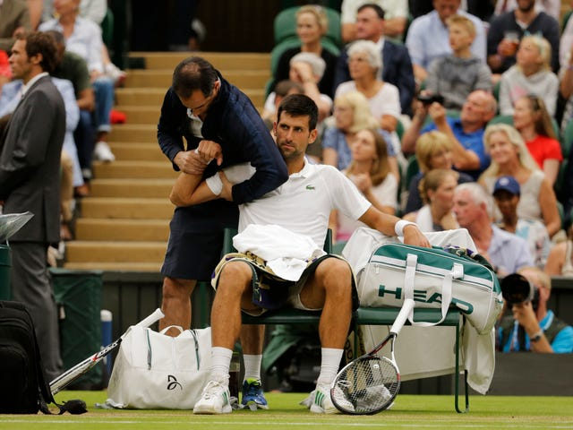 Novak Djokovic Will Likely Miss The U.S. Open With A Bone Bruise