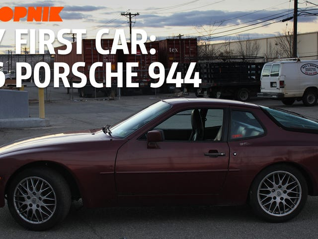 Así es como exploté mi primer auto: un Porsche 944