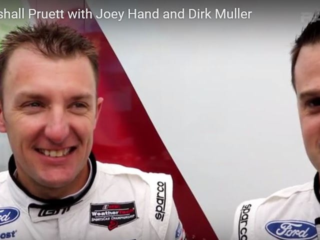 RACER Video: Marshall Pruett with Joey Hand and Dirk Muller
