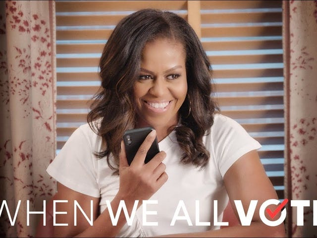 Unfortunately, Michelle Obama is Not Running For President, But She's All About Voting