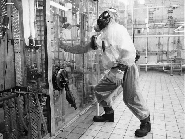 Dagen, hvor Det Forenede Kongerige var Tjernobyl: atomreaktoren ild for at bygge en atombombe