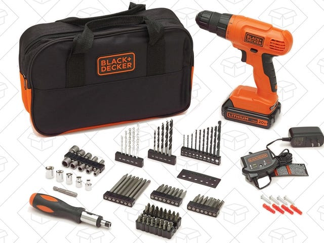 Tackle Your Next DIY Project With This $47 Drill Kit