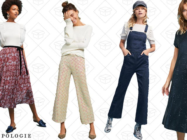 You're Gonna Want to Dig Through Anthropologie's Sale Section Now That It's 30% Off