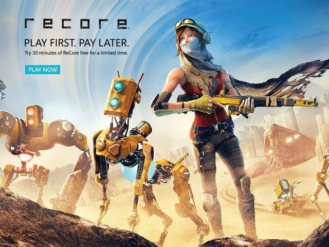 ตัวอย่างที่สามารถเล่นได้สำหรับ ReCore พร้อมใช้งานบน Xbox One และพีซีแล้ว