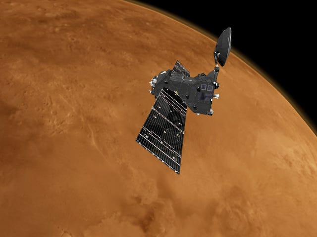 Europe's Gas-Sniffing Spacecraft Set to Science the Shit Out of Mars