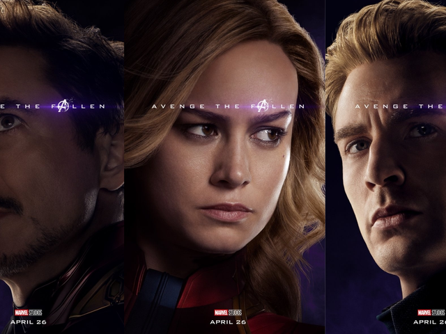 Los nuevos carteles de Avengers: Endgame confirman qué otros personajes sobrevivieron al chasquido de Thanos