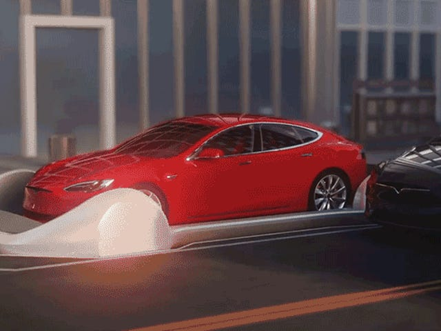 Elon Musk Wants to Turn the LA Underground Into a Giant Slot Car Race