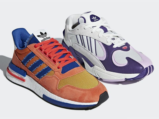 Adidas' First Two Dragon Ball Sneakers Are Goku & Frieza