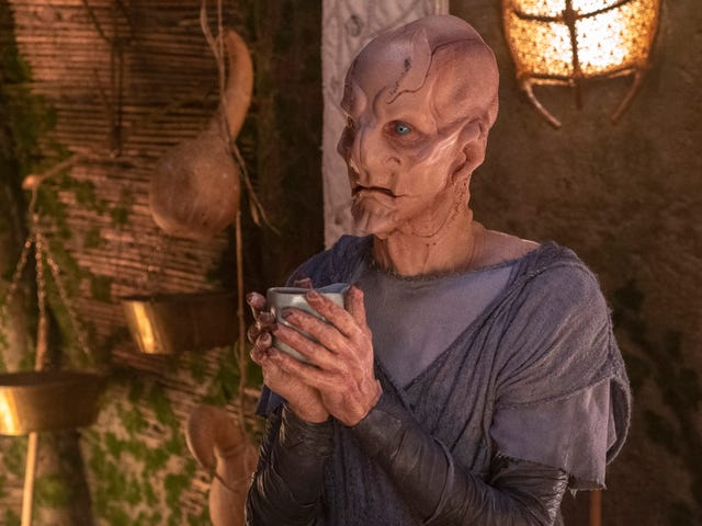 Saru goes home on a shallow Star Trek: Discovery