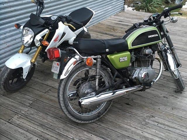 Selling my 1976 Honda CB200 in Austin Texas