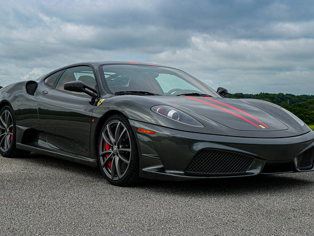 The F430 Scud has aged so well...