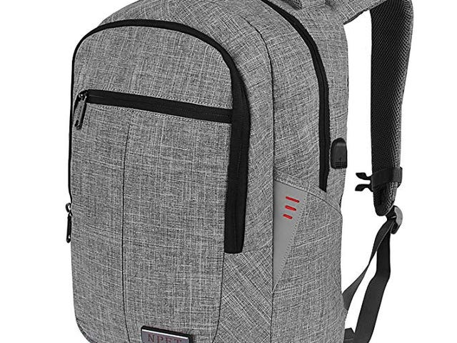20% Off NPET Business Laptop Backpack on Amazon