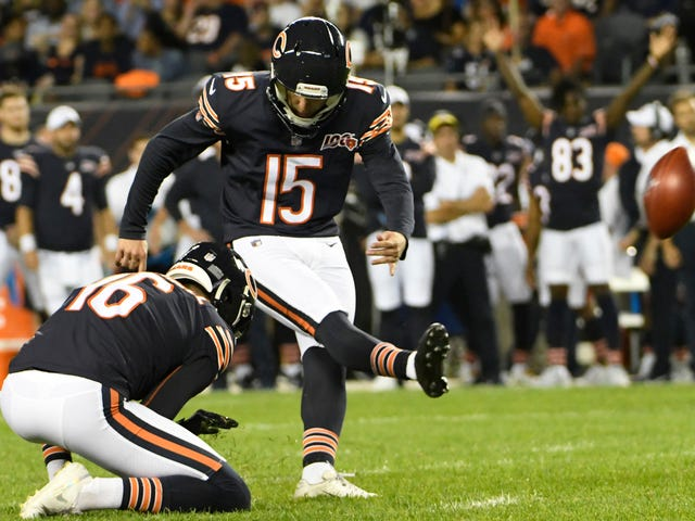 Last Man Standing In Bears' Exhaustive Kicker Competition Bonks Extra Point To Timbuktu