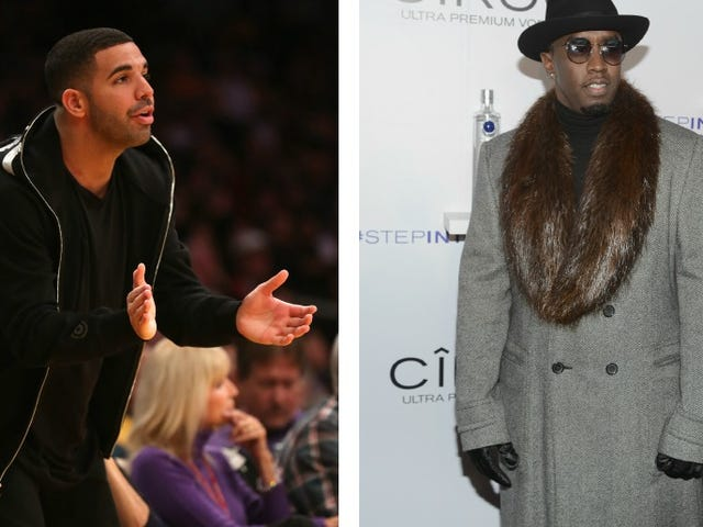 Diddy and Drake's Big Fight Was About a Song