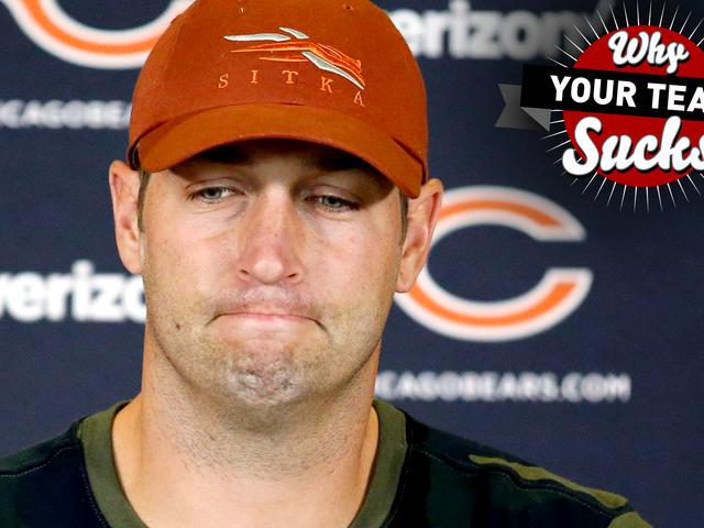 Pourquoi votre équipe suce 2016: Bears de Chicago