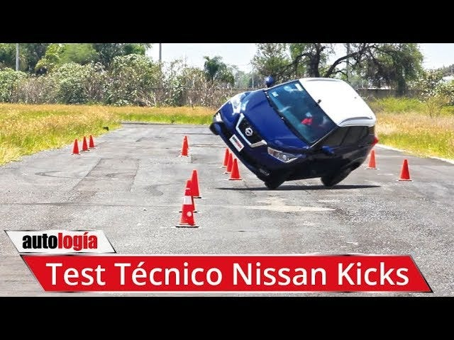 test of a Nissan Kicks without stability control