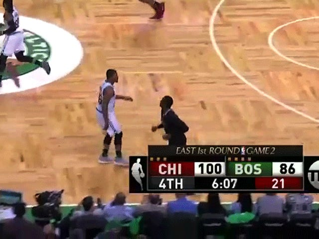 Actually, Marcus Smart Flipping Off A Fan Was Good