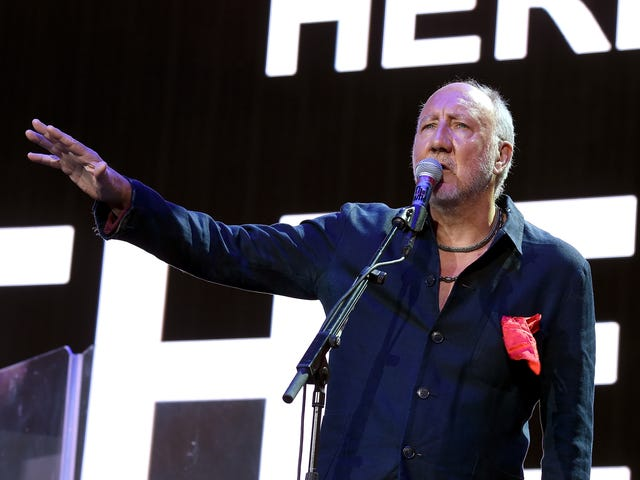 Pete Townshend apologizes for saying he's glad his old Who bandmates are dead