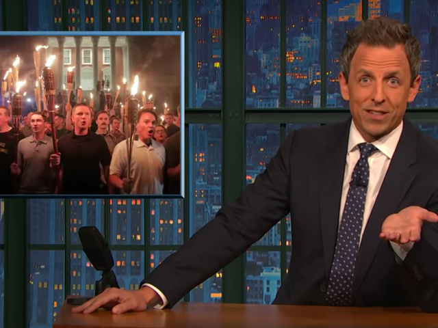 Seth Meyers unpacks the absurdity of Trump calling anyone else part of a mob on Late Night