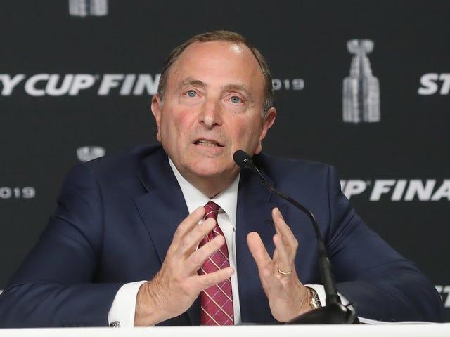 Satu Laman Neutral Tidak Akan Berfungsi Untuk NHL, Tetapi Kerana Beberapa Sebab, Empat Mungkin?