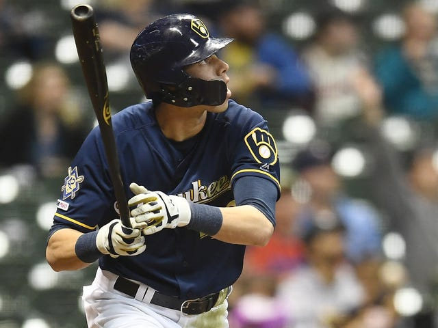 Christian Yelich Has Been A Human Fireball Against The Cardinals