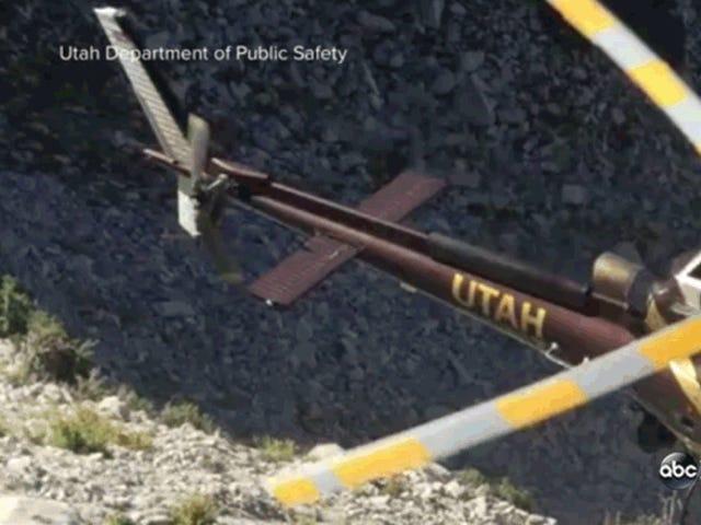 Voici pourquoi vous ne devriez pas jouer avec des cordes près d'hélicoptères