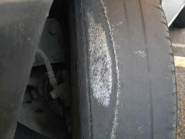 My too-aggressive alignment chewed up my front summer tires. I'm trying to not buy new ones til spring.