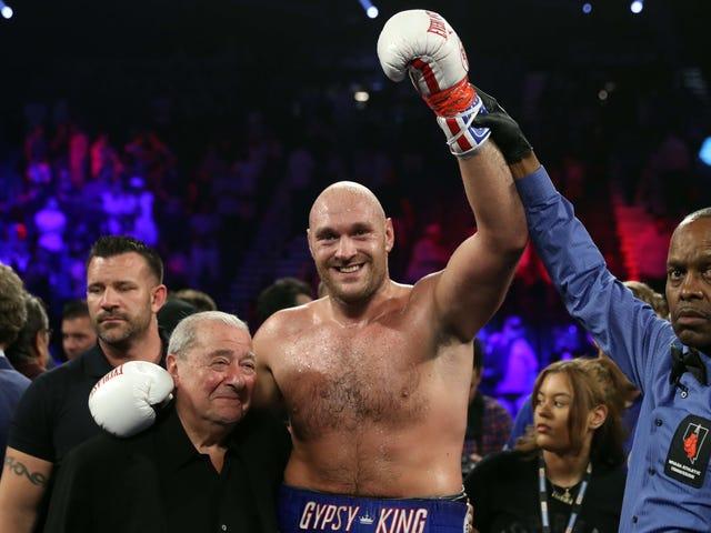 ESPN Ay Natigil Sa Tyson Fury Bilang Nito Hero