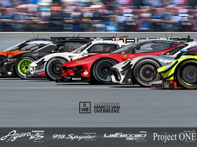 WEC goes for hypercars; Aston Martin and Toyota confirmed