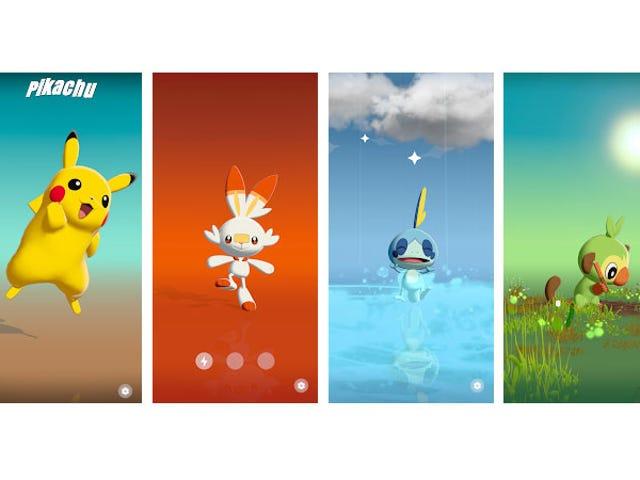 Googlen uudessa puhelimessa on erinomainen Pokémon Gimmick