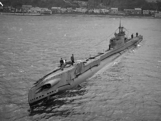 Sunken British Submarine Found Off the Coast of Denmark