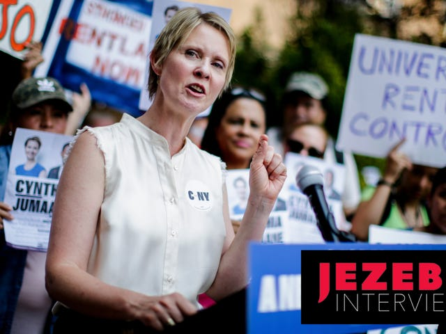Cynthia Nixon Intends to Win