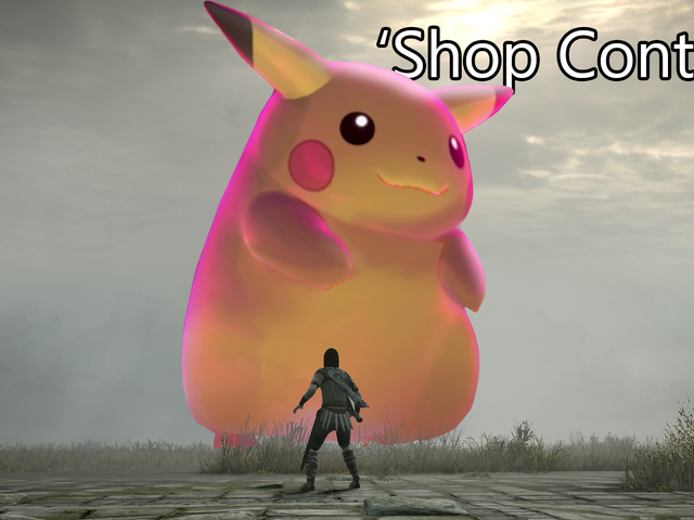 'Shop Contest: Big Pikachu