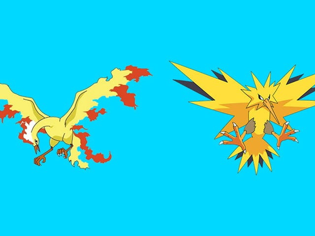 Pokémon Go'sNext Two Legendaries Are Moltres And Zapdos