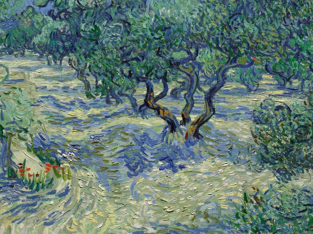 Investigadores encuentran saltamontes atascados en pintura clásica de Van Gogh